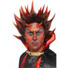Parrucca Carnevale Halloween Diavolo  davil