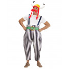 Costume Carnevale Uomo Vichingo Gaulois EP 26299 Effetto Party Store marchirolo