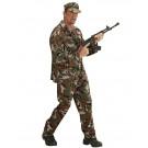 Costume Carnevale Soldato Mimetica Militare EP 26302 Effetto Party Store marchirolo