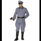 Travestimento soldato tedesco guerra mondiale costume Carnevale uomo *19895 effettoparty store