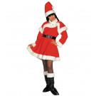 Vestito Donna Babba Natale Lusso EP 25830 Abito Natalizio Effettoparty Store Marchirolo