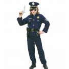 Costume Carnevale Bimbo Divisa Poliziotto | pelusciamo store