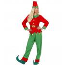 Costume Elfo Donna Aiutante Di Babbo Natale EP 25836 Effettoparty Store Marchirolo