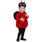 Costume Carnevale Coccinella Rossonera travestimento Bimbi  EP 25865 Effettoparty Store Marchirolo