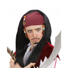 Parrucca Pirata Ragazzo Bandana e Perline EP 26414 Effettoparty.com
