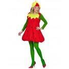 Costume Carnevale Fragola Unisex EP 26407 Taglia Unica Effettoparty Store Marchirolo