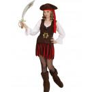 Costume Carnevale Bambina Piratessa Dei Caraibi EP 26600 Effettoparty Store Marchirolo