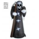 Morte Gonfiabile E Luminosa Grim Reaper 122 Cm EP 09208 Effettoparty Store Marchirolo
