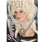 Girocollo Barocco Con Cameo Accessori Costume Carnevale EP 26489 Effettoparty.com