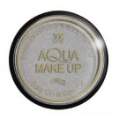 Trucco ad acqua argento met. Face Body painting make up professionale *19236