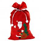 Sacco Grande Porta Regali Babbo Natale Accessori Costume PS 12310 Pelusciamo Store Marchirolo