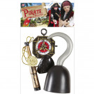 Set Accessori Pirata Per Costume Carnevale Pirati EP 26480 Effettoparty store Marchirolo