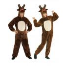 Costume Carnevale Adulto Unisex Renna In Peluche PS 25843 Pelusciamo Store Marchirolo