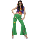 Abito Carnevale , Vestito Donna Hippie Woodstock   | Effettoparty.com