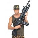 Accessorio Costume Carnevale Fucile Mitra Gonfiabile Militare esercito | pelusciamo.com