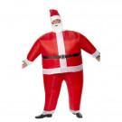 Costume Adulto Babbo Natale Auto Gonfiante  | effettoparty.com