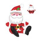Babbo Natale in Foil 53 cm Ad Aria , Palloncino Da Arredamento  *12598 | Effettoparty.com