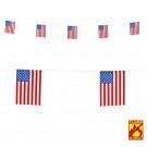 Gadget USA , Festone con Bandierine America | Effettoparty.com