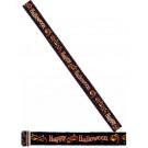 Banner Happy Halloween 4 metri Accessori Arredo Party  *00814 | Effettoparty.com