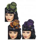 cappellino burlesque halloween viola | Pelusciamo.com