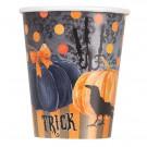 Bicchieri  in Carta Corvo , Accessori Festa Halloween     Effettoparty.com