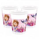 8 Bicchieri Plastica Party Disney, Principessa Sofia | Effettoparty.com| Pelusciamo.com