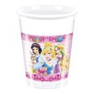 10 Bicchieri Plastica Principesse , Compleanno Bimba Disney *10671  | Effettoparty.com