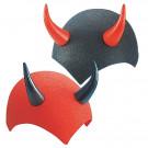 Accessori Halloween Calotta Diavolo Feltro Rossa O Nera EP 09049 Effettoparty Store marchirolo