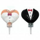 Coppia Candeline Sposa e Sposo,  | Effettoparty.com