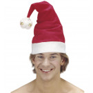 Accessori travestimento Babbo Natale Adulto, Cappello con Campanelle | effettoparty.com