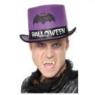 Cappello Viola a Cilindro da Adulto per Halloween  effettoparty.com