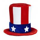 Cappello Americano , Zio Sam  Accessorio Carnevale adulto | effettoparty store