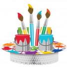 Accessori Compleanno, Centrotavola Portadolci Art    | Effettoparty.com