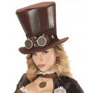 Cilindro Steampunk con Occhiali Accessori Costume Carnevale EP 26421 Effettoparty store Marchirolo