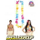 Collana Fior iper Costume Hawaiana e Festa Estiva | effettoparty.com