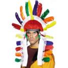 Copricapo Indiano con Piume costume Carnevale  *024854 | effettoparty.com