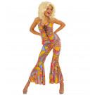 Travestimento Da Donna anni '70, Costume Per Carnevale Funky EP 11343 pelusciamo Store Marchirolo