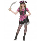 Costume carnevale bambina Bucaniera travestimento pirata 05441 effettoparty