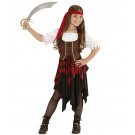 Costume carnevale bambina Piratessa travestimento pirata 05429 effettoparty