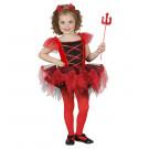 Travestimento Halloween bambina, Vestito Diavoletta a Tutu  | Effettoparty.com