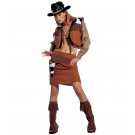 Costume Carnevale Donna Abito Western CowGirl , Cow Girl *02080 effettoparty.com