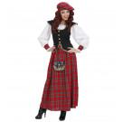 Vestito Carnevale Donna , Costume Scozzese | Effettoparty.com
