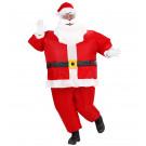 Costume Adulto Babbo Natale Gonfiabile  | effettoparty.com