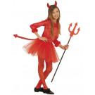 Costume Carnevale bambina diavoletta travestimento Halloween *21819 | Effettoparty.com