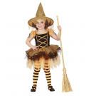 Costume da Streghetta con Tutu, Bambina Halloween  | Effettoparty.com
