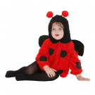 Abito Carnevale Bambina Coccinella Travestimento Animali PS 24916 Effettoparty Store Marchirolo