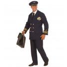 Abito Carnevale Adulto Travestimento Comandante Pilota