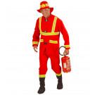 Abito Carnevale Adulto Travestimento Pompiere  *22830 | Effettoparty.com