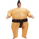 Costume Carnevale Adulto Autogonfiante, Lottatore Sumo   | pelusciamo.com