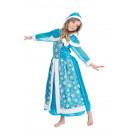 Abito Regina Dei Ghiacci Costumi Carnevale Bambina EP 25695 Effettoparty Store Marchirolo